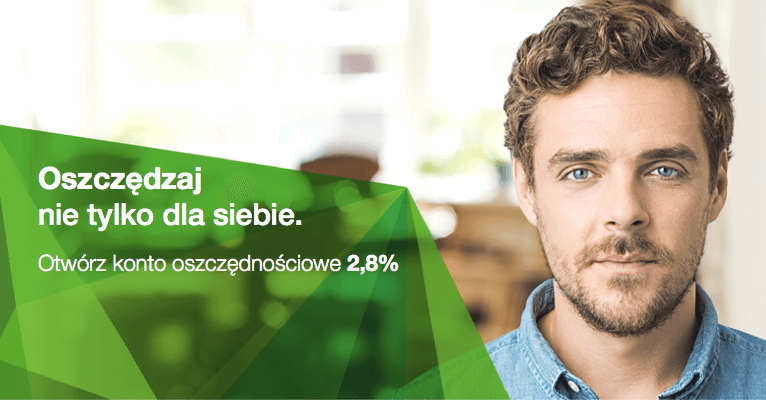 2.8% na koncie oszczędnościowym w Getin Bank