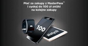 MasterPass: 100 zł zniżki na kolejne zakupy w euro.com.pl i oleole.pl
