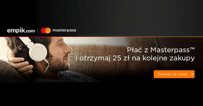 25 zł zniżki na empik.com za płatność MasterPass