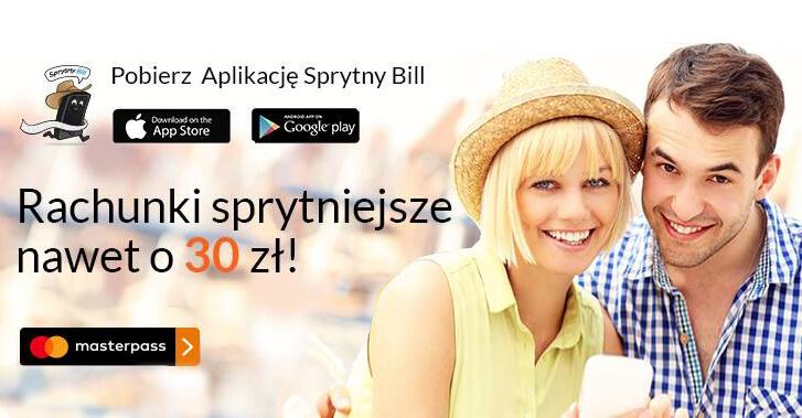 30 zł dla nowych klientów Sprytny Bill