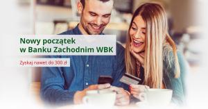 Do 300 zł za zamknięcie karty kredytowej w innym banku dla obecnych klientów BZWBK!