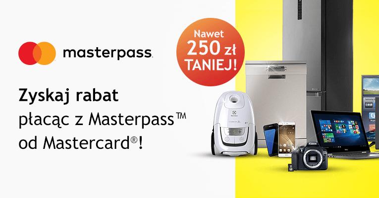 MediaExpert: Do 250 zł zniżki z MasterPass