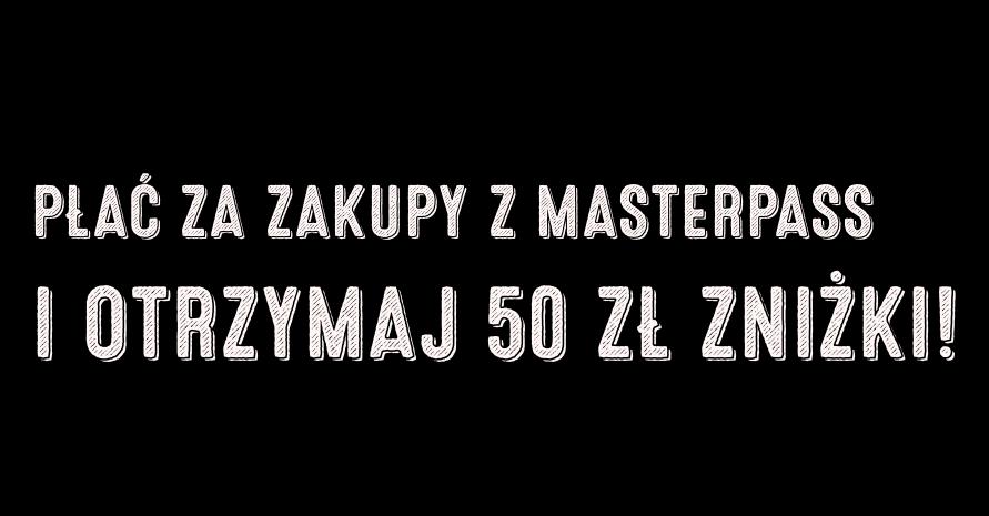 50 zł zniżki w sklepie Frisco.pl za płatnośćMasterPass