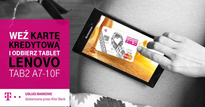 Tablet za kartękredytowąT-Mobile Usługi Bankowe
