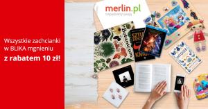 10 zł rabatu na Merlin.pl za zakupy opłacone BLIKiem