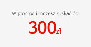 mBank: do 300 zł premii i 3% za otwarcie eKonta Standard lub Plus