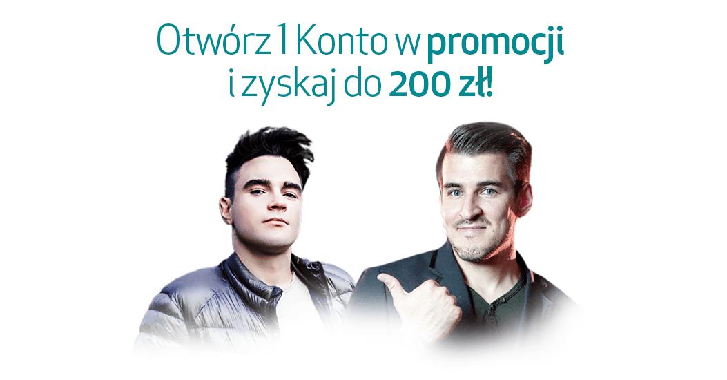 200 zł za założenie mobilnego 1 Konta w Credit Agricole
