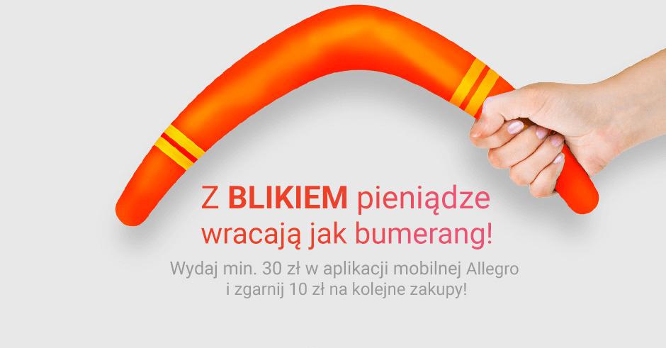 10 zł zniżki na Allegro za płatność BLIKiem