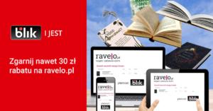 Do 30 zł zniżki na ravelo.pl za płatność BLIKiem