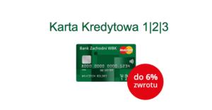Podwójny zysk na karcie kredytowej 1|2|3 – do 6% zwrotu za transakcje w sklepach