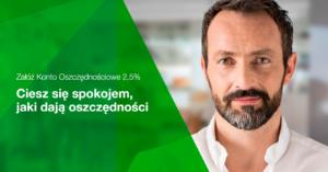 2,5% na koncie oszczędnościowym w Getin Banku do 100 000 zł!