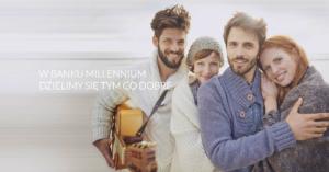 """Program """"Lubię to polecam"""" w Banku Millennium: bilety, vouchery, 10% zwrotu i lokata 4% dla nowych i obecnych klientów"""