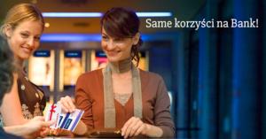100 zł lub 4 bilety do kina oraz do 300 zł zwrotu za założenie eKonta