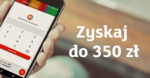Do 350 zł premii za założenie konta w mBanku