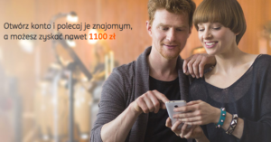 ING: 100 zł na start i do 1000 zł za polecenie konta znajomemu