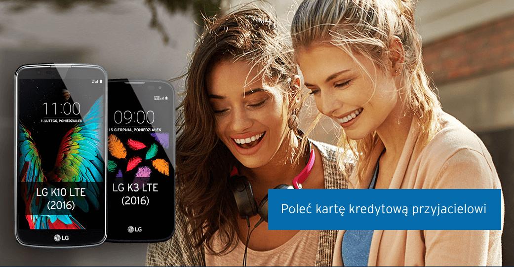 150 zł + smartfon LG za polecenie karty kredytowej Citibank