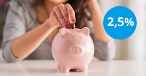 Lokata Skarbonka: do 2,5% bez ograniczeń kwotowych w Idea Banku