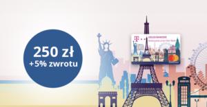 MasterCard Travel: 250 zł do wykorzystania na fru.pl i 5% zwrotu od transakcji zagranicznych