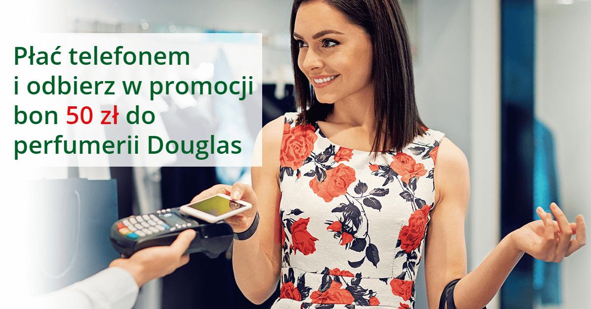 50 zł do Douglas od BZWBK