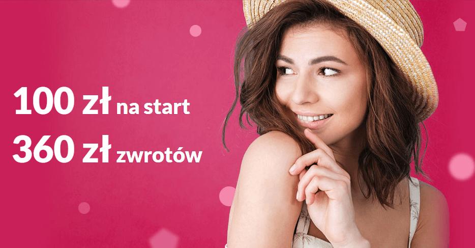 100 zł + 360 zł za założenie Konta 360 w promocji Bankier.pl