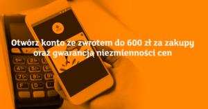 Do 600 złza założenie eKonta w nowej promocji mBanku
