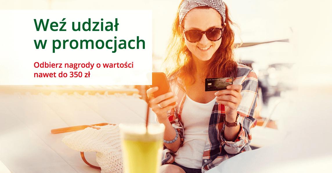 Wakacje z kartą kredytową - 350 zł od BZWBK