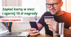 BZWBK: 10 zł za płatnośćkartąprzez internet