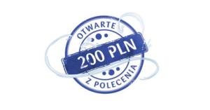200 zł za założenie PKO Konta Firmowego w II edycji programu poleceń