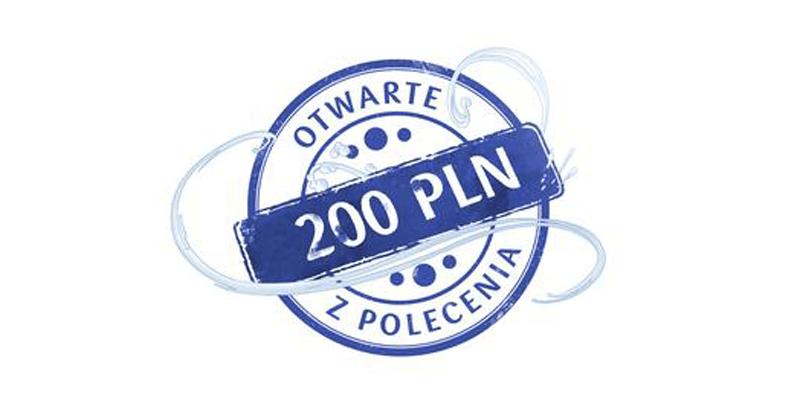 200 zł za konto firmowe PKO BP