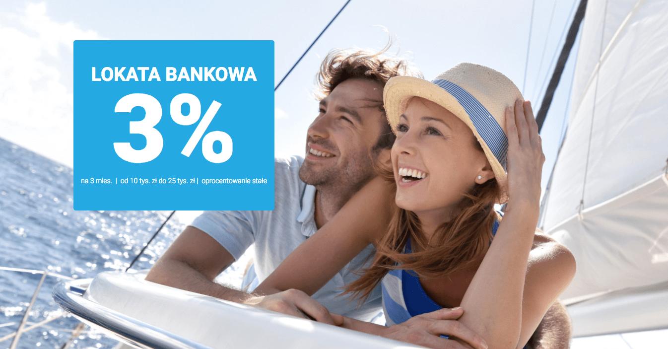 Lokata 3% do 25 000 zł w Expander (eurobank)