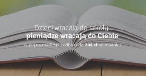 25 zł miesięcznie za zakupy na merlin.pl dla nowych klientów mBanku