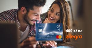 400 zł do wydania na Allegro za wyrobienie bezpłatnej karty Citi Simplicity!