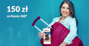 Wraca 150 zł za założenie Konta 360° Banku Millennium w promocji Bankier.pl