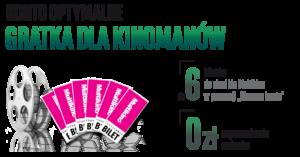 6 biletów do Multikina za założenie Konta Optymalnego