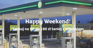 """180 zł zniżki na BP za założenie eKonta w promocji """"Happy Weekend"""""""