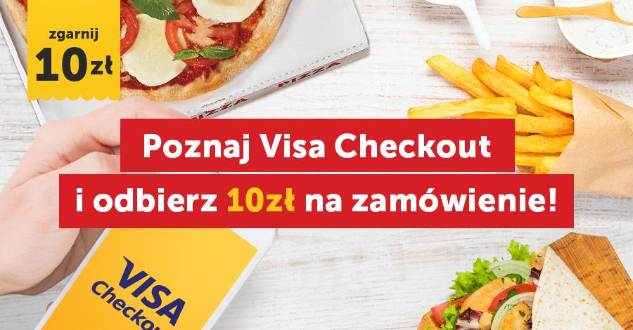 10 zł rabatu na Pizzaportal.pl z Visa Checkout