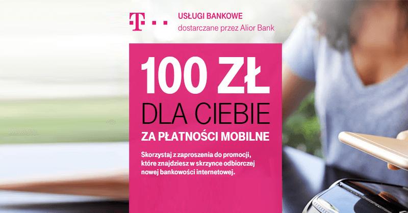 100 zł do Decathlona za płatności mobilne HCE w T-Mobile Usługi Bankowe