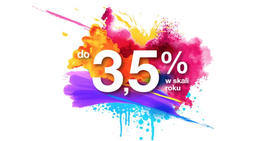 3,5% na Lokacie Bezkonkurencyjnej Plus w Idea Bank