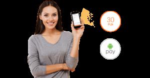 Allegro: 30 zł zniżki za płatność Android Pay!