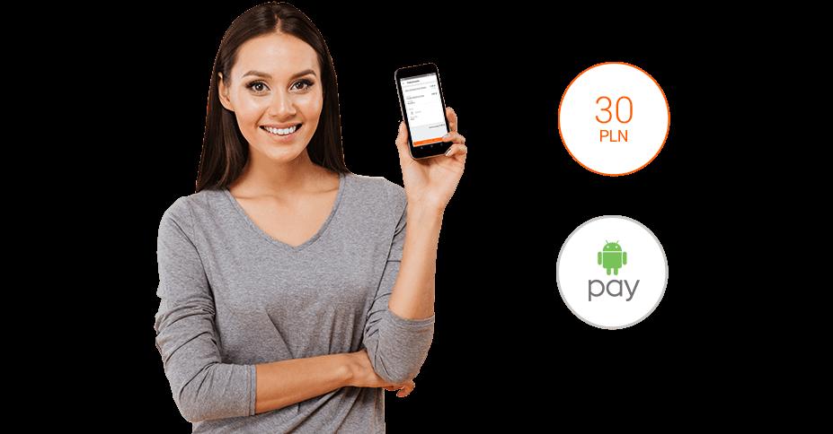Bon 30 zł na Allegro za płatność Android Pay
