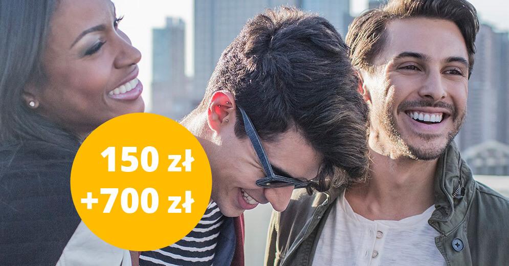 150 zł w programie poleceń Citi Priority 700 zł premii
