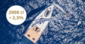2000 zł i lokata 2,5% za założenie konta Citigold