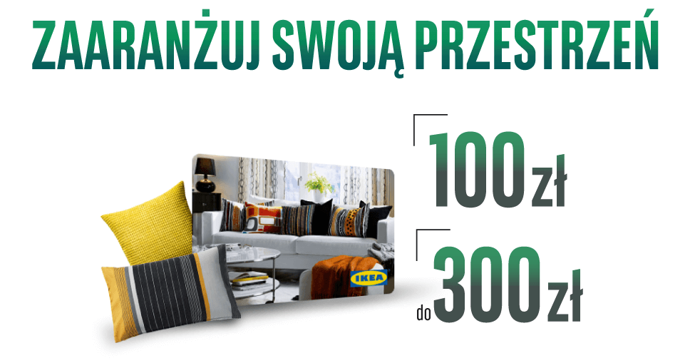 100 zł do Ikea za założenie Konta Optymalnego BGŻ BNP Paribas