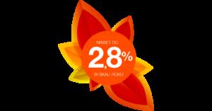 2,8% na Lokacie na nowe środki w Idea Bank (i 3% dla posiadaczy konta)