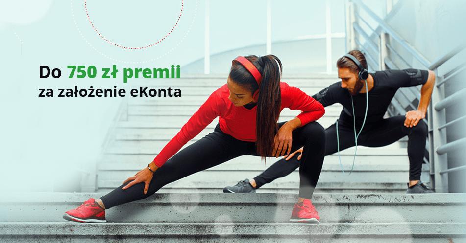 100 zł do sklepów Decathlon i do 650 zł moneybacku za założenie eKonta w promocji Bankier.pl!