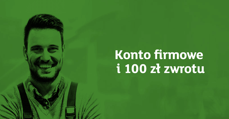100 zł za założenie mBiznes Konta Standard, 24 miesiące bez opłat i terminal za 0 zł