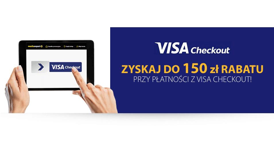 Do 150 zł rabatu na MediaExpert.pl przy płatności Visa Checkout