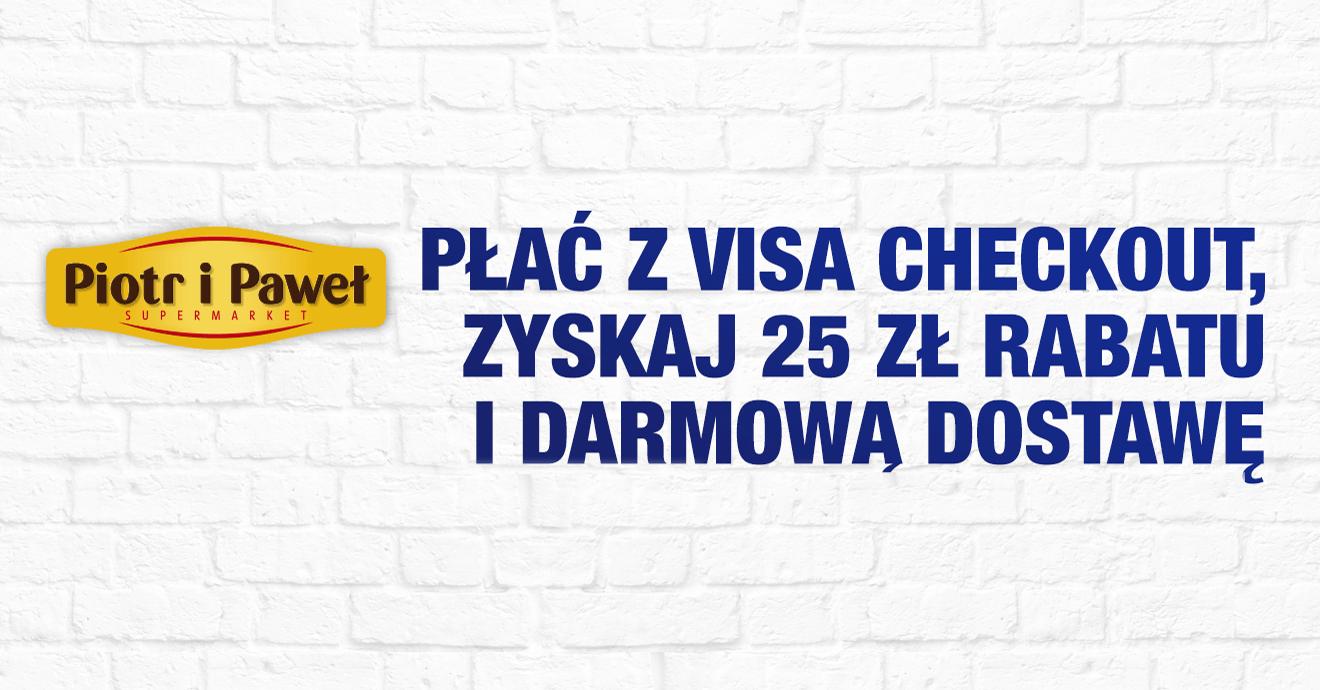 25 zł zniżki do Piotr i Paweł od Visa Checkout i Visa Oferty