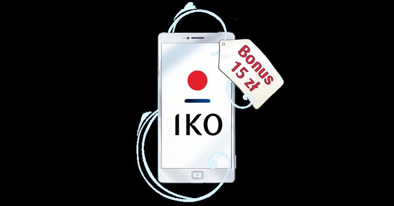 Aktywuj aplikację IKO i zyskaj 15 zł od PKO BP