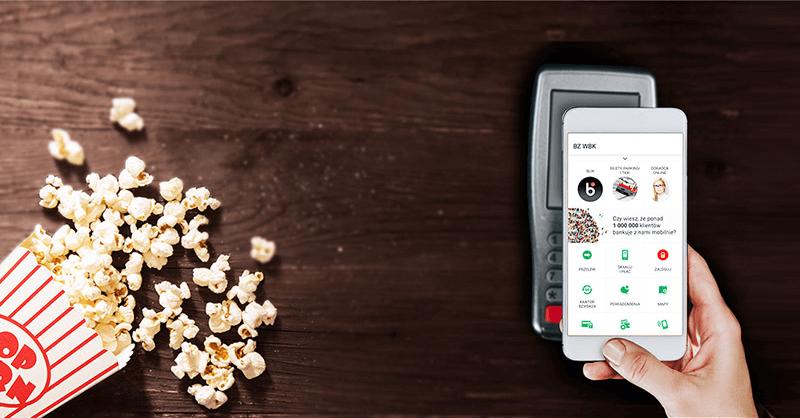 Bilet do kina Helios za 4 płatności kartą mobilną